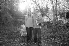condie family black and white jamie romaezi photography