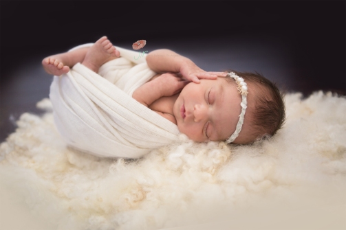 organic newborn photo jamie romaezi photography
