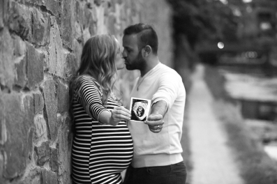 Ultrasound maternity photo Jamie Romaezi Photography