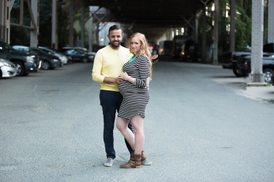 urban maternity photo Jamie Romaezi