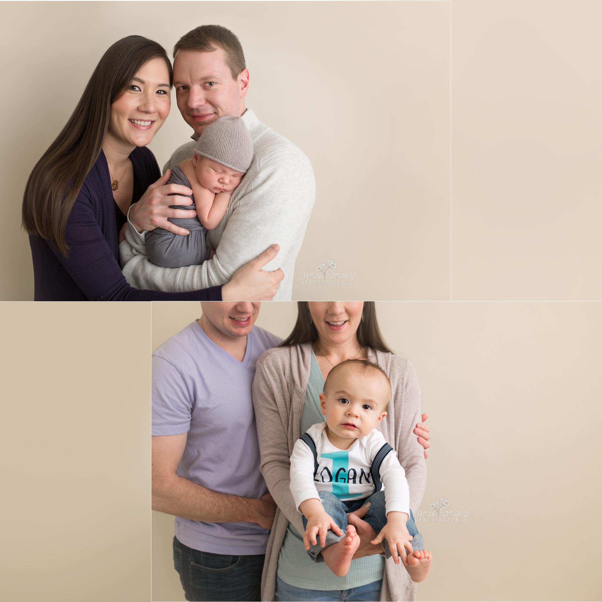 Newborn versus 1 Year