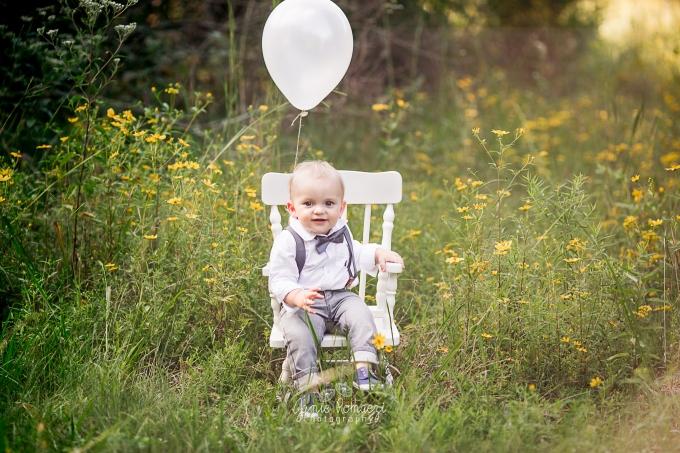 Wildflower Birthday Photos, Northern Virginia Family Photographer