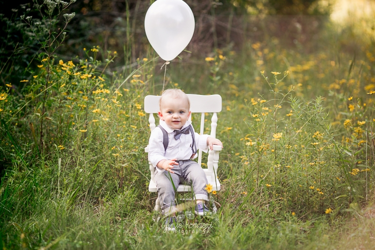 Wildflower Birthday Photos, Northern Virginia Family Photographer